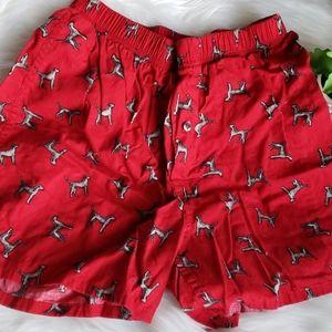 Merona Red Dog Boxers
